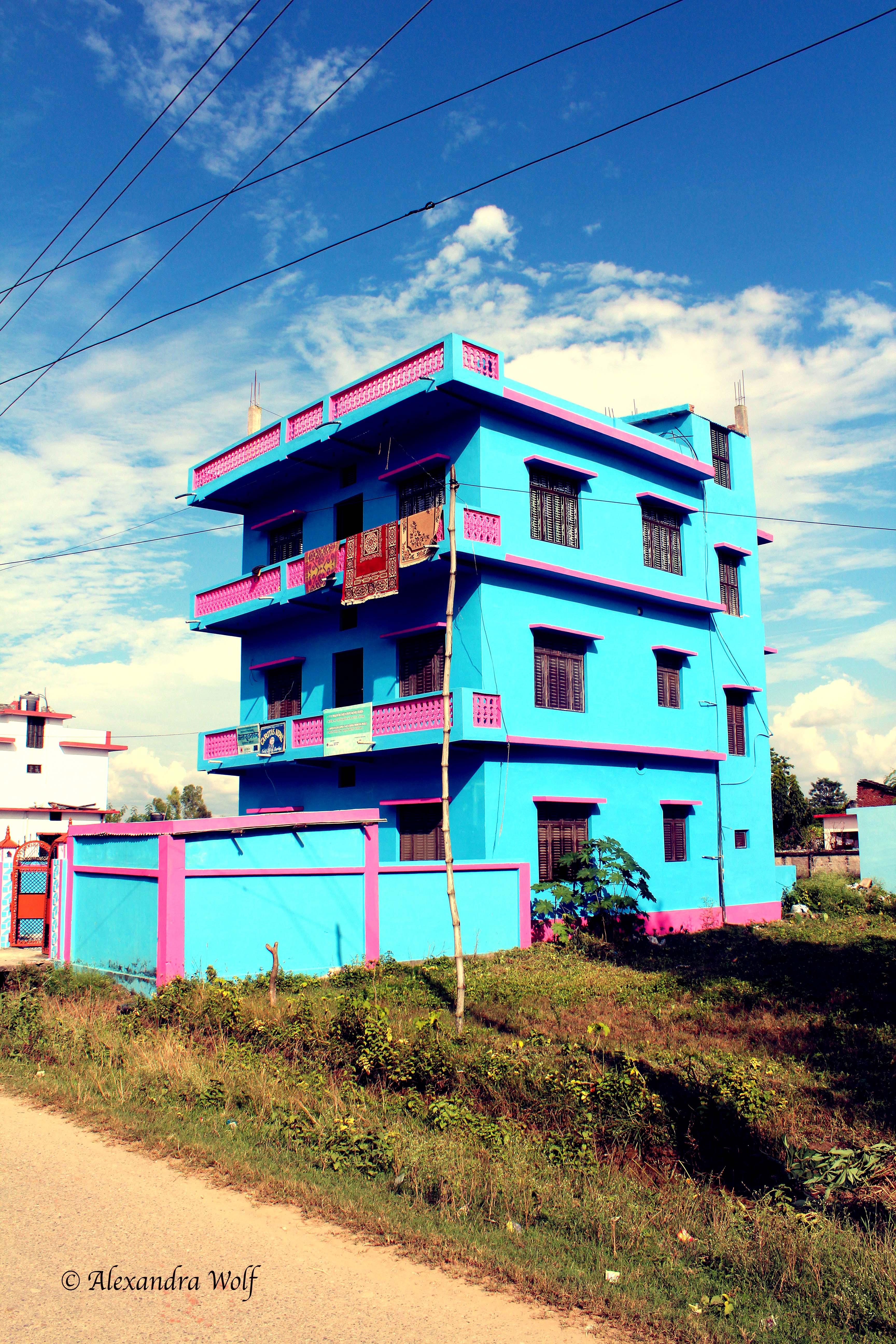 Visuelle Kommunikation & Social Media Nepal 2013 Alexandra Wolf