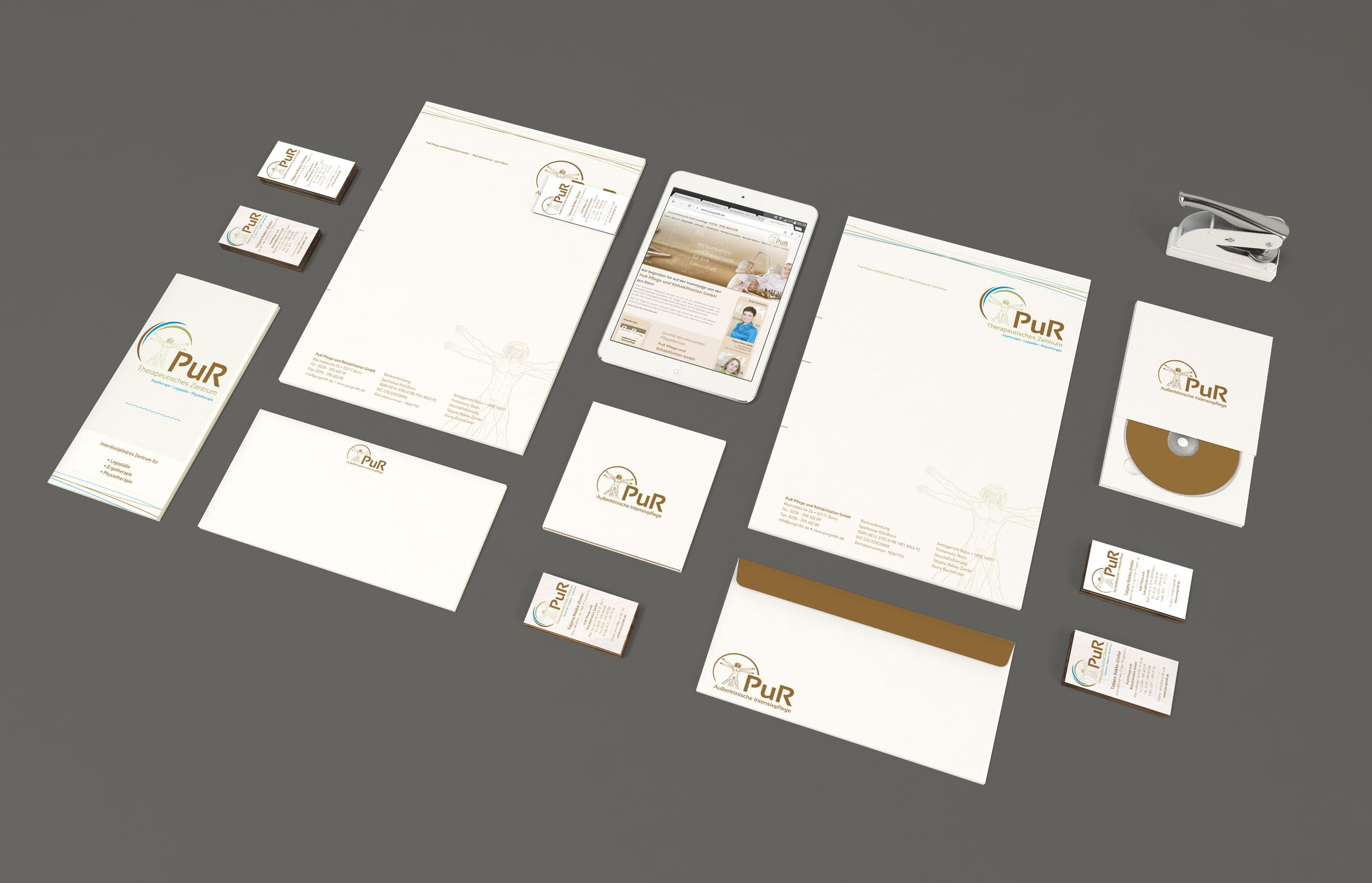 PuR GmbH Bonn Kommunikationsdesign Social Media Alexandra Wolf natürlich design Branding Corporate Design Grafik Design Bonn Goldstück